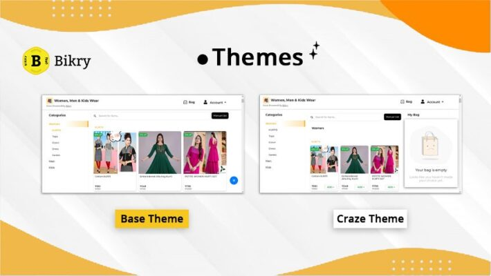 Themes- New feature on Bikry