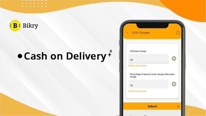 Cash on Delivery- new Feature on Bikry
